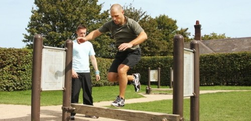 Personal Trainer Primrose Hill Park, Trim Trail