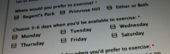 Get in shape with our Online Fitness Assessment