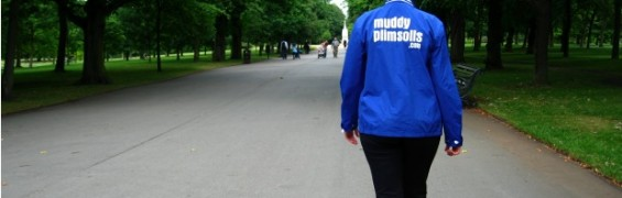 Exercise to conceive, woman power walking in the park