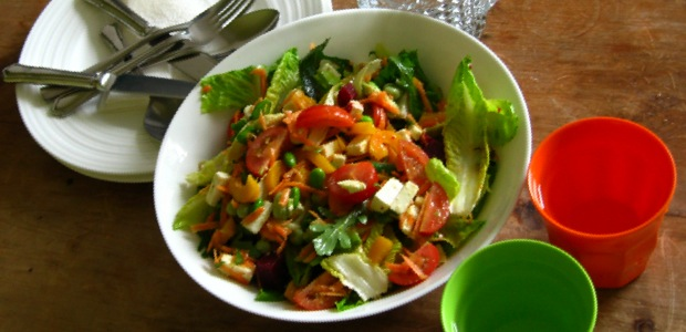 No carb diet, make a tasty salad