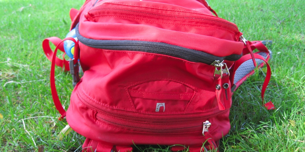 Vaude review pic top view