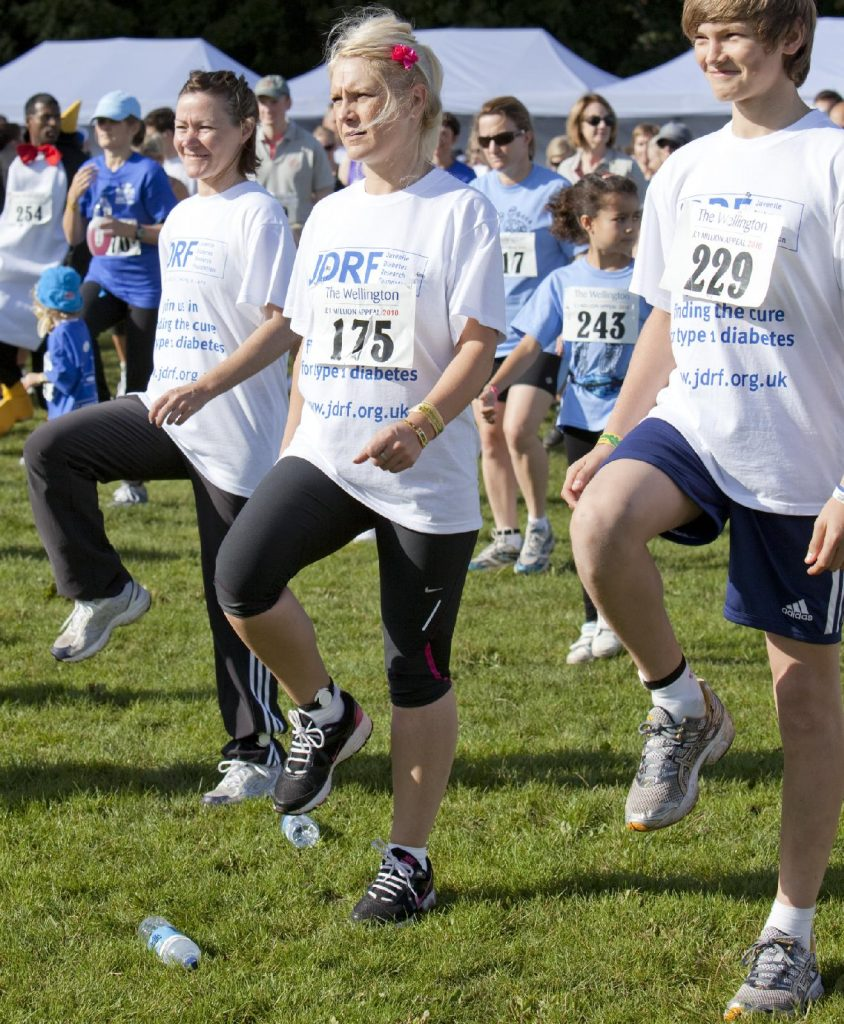 employee wellbeing campaigns can include charity run promotions