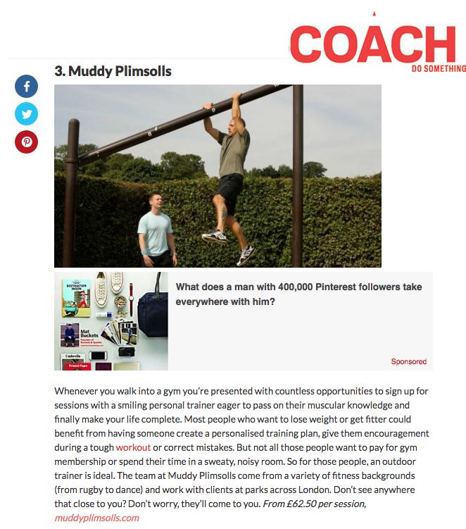 Coach Magazine article June 2016 Coach logo