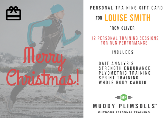 personal training gift card Muddy Plimsolls 2016
