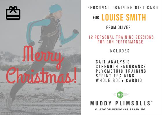 personal training gift card Muddy Plimsolls 2016
