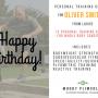 Happy Birthday gift card for men 2017