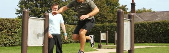 Personal Trainer Primrose Hill Park, Trim Trail