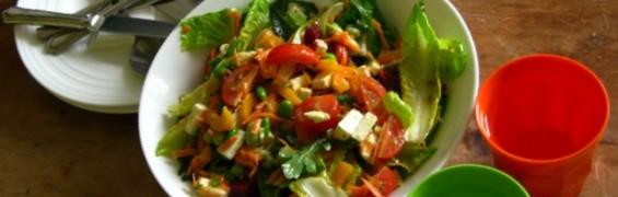 No carb diet, make a tasty salad