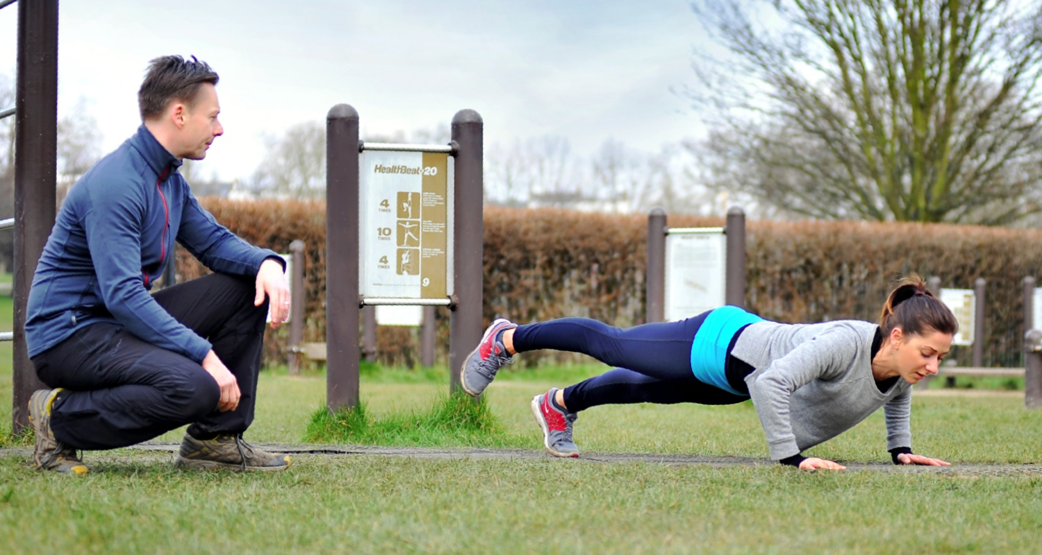 Personal training with a London personal trainer