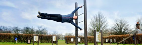 Performing the flag Muddy Plimsolls What is a calisthenics workout